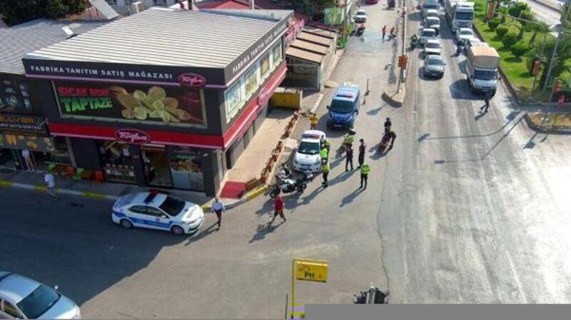 İzmir'de trafik denetimlerinde 384 sürücüye 181 bin lira ceza