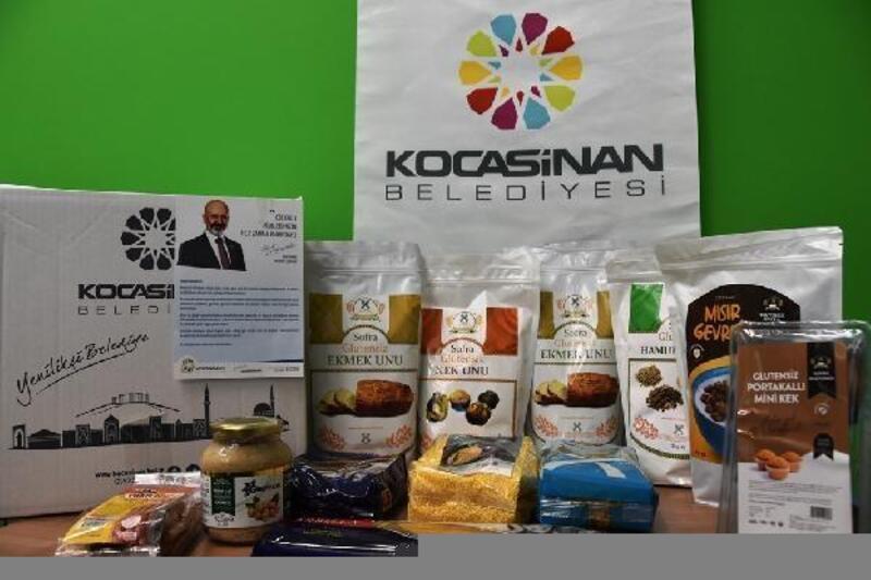 Kocasinan Belediyesinden çölyak hastalarına glütensiz yiyecek desteği