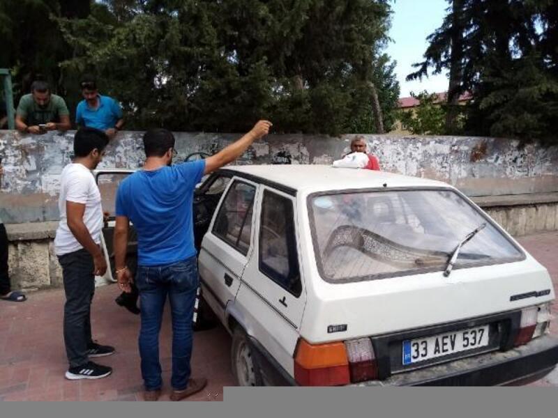 Tarsus'ta meydana gelen kazada iki kişi yaralandı
