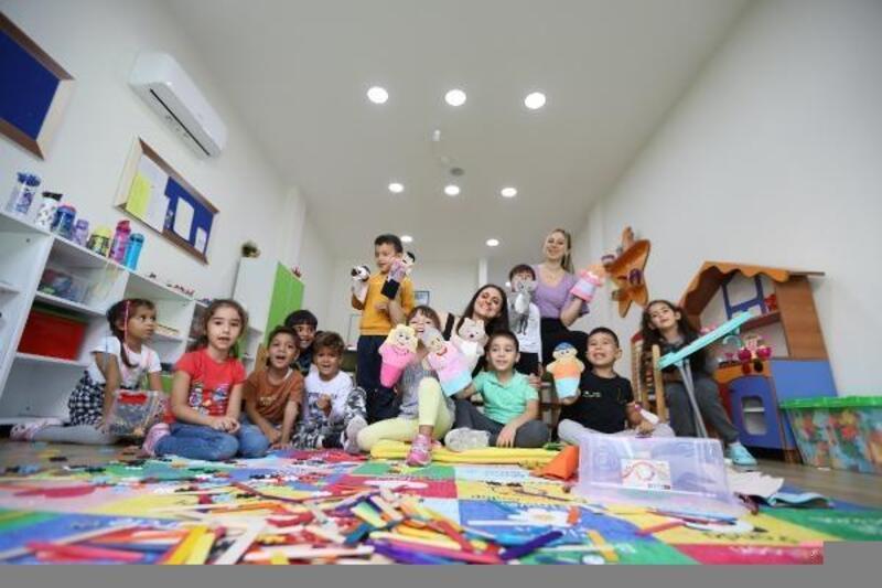 Enis-Necip Tüyeni Çocuk Gündüz Bakımevi sağladığı avantajlarla dikkat çekiyor