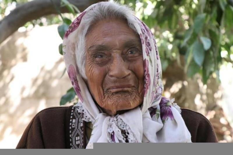 Asırlık Çınar 'Elif Nene' unutulmadı