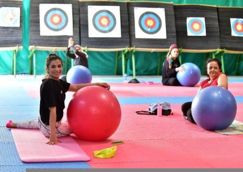 Kepez'de pandemi sonrası cimnastiğe olan ilgi arttı