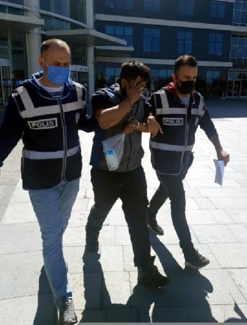 Akü hırsızlığı yapan şüpheli tutuklandı