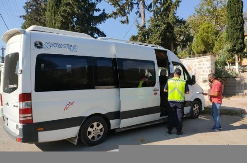 Jandarmadan servis şoförlerine seminer