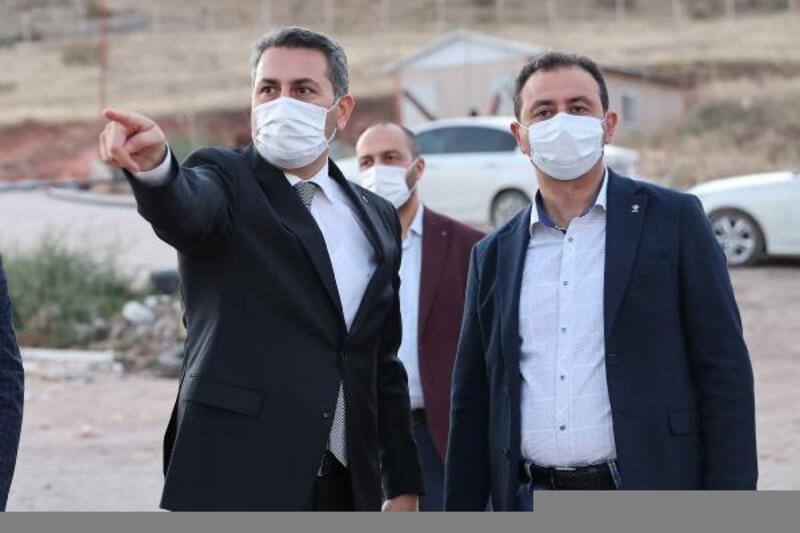 Tokat'ta yeni Katı Atık Depolama Tesisi Lot Alanı inşaatı sürüyor