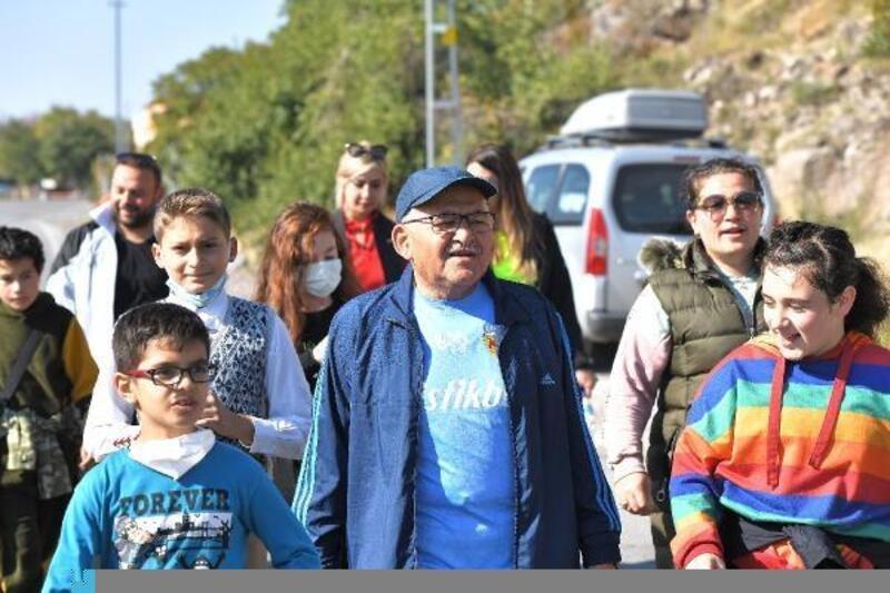 Başkan Büyükkılıç, çocuklarla buluştu