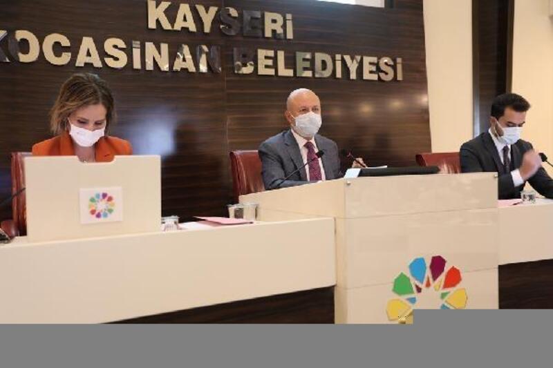 Kocasinan meclisinde 13 gündem maddesi karara bağlandı