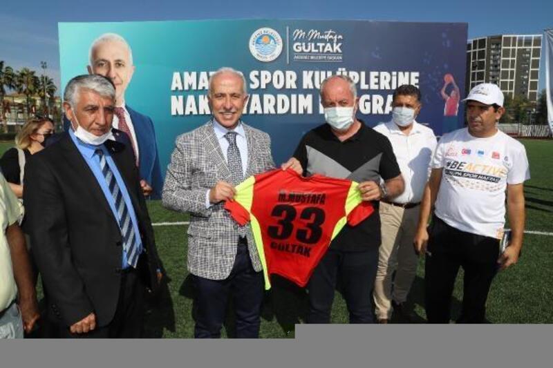 Akdeniz Belediyesi'nden amatör spor kulüplerine destek