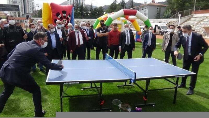 Spor Tokat Projesi'nin sezon açılışı yapıldı