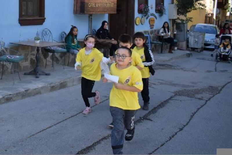 Misi'de çocukların zamana karşı yarışı