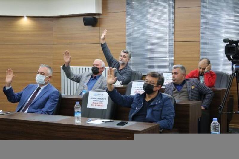Hacılar Belediye meclisinde 8 gündem maddesi karara bağlandı