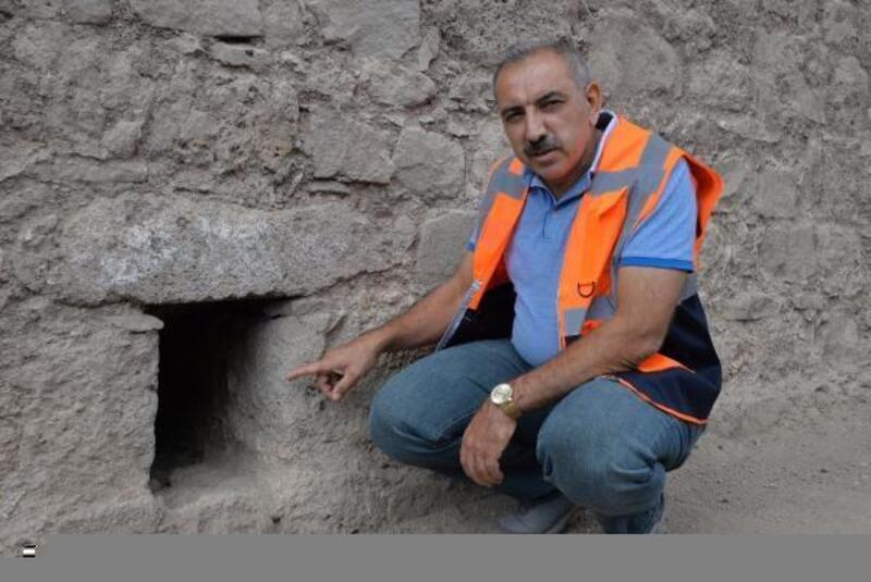 Diyarbakır surlarında 'altyapı giderleri' bulundu