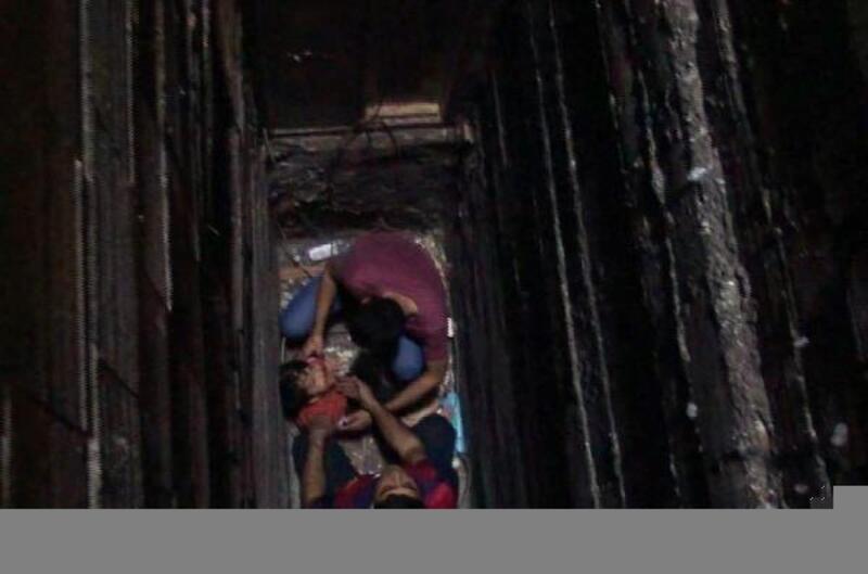 Havalandırma boşluğundan düşen çocuk yaralandı