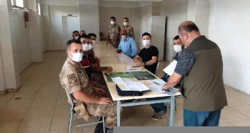 Jandarma ve muhtarlara kaçak avcılıkla mücadele eğitimi
