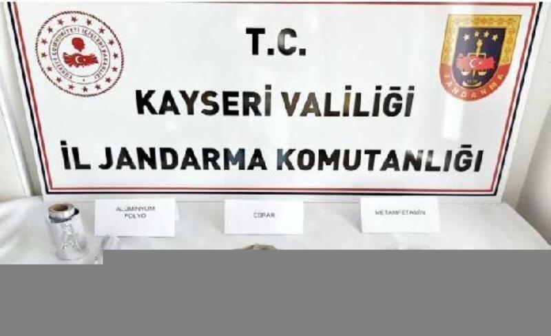 Kayseri'de 3 kişiye uyuşturucu gözaltısı