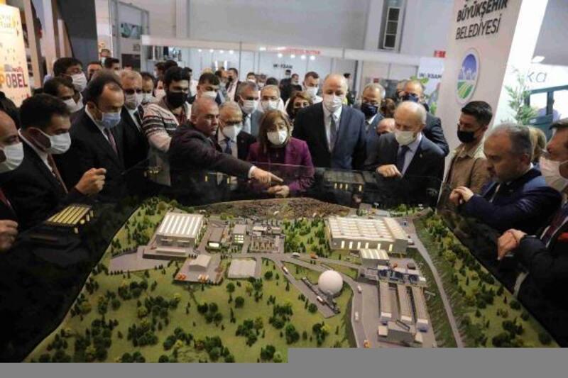 Gaziantep'te, şehircilik ve teknoloji fuarı açıldı
