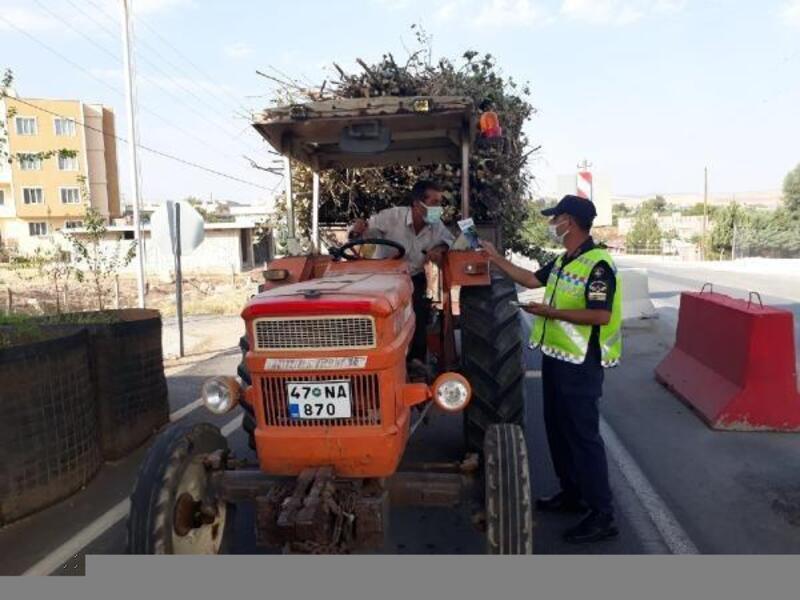 Mardin'de traktör denetimi