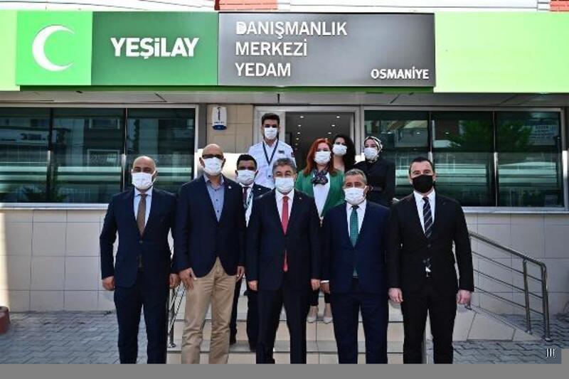 YEDAM, Osmaniye'de hizmet vermeye başladı