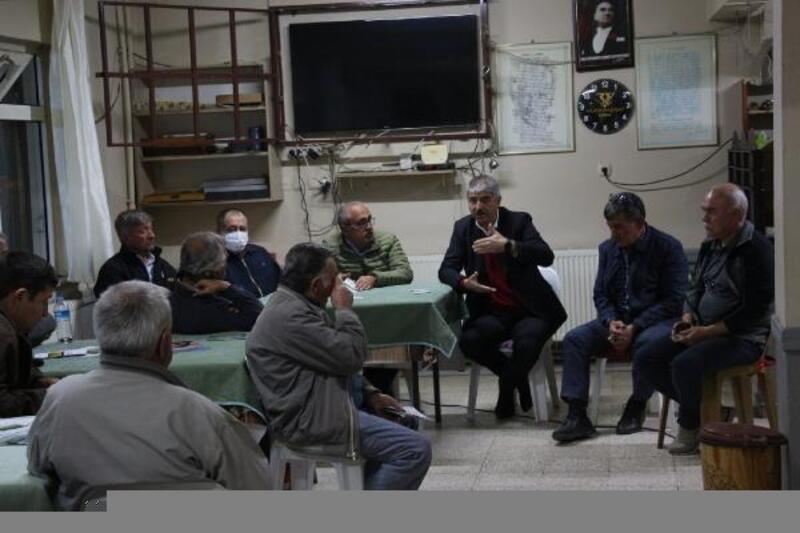 Edirne'de köylerde üreticilere yönelik gece eğitimleri başladı