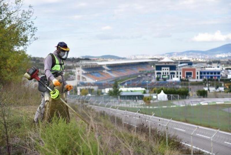 Tuzla Belediyesi'nden Formula 1 Yarışları için yoğun mesai