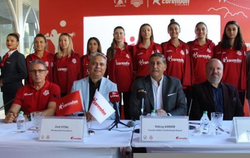Corendon, Muratpaşa Belediyesi Kadın Voleybol Takımı ana sponsoru