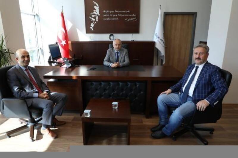 Başkan Palancıoğlu'ndan Tapu ve Kadastro Bölge Müdürlüğü'ne ziyaret