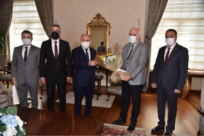 Manisa BBSK'dan Vali Karadeniz'e ziyaret
