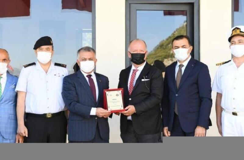Vali Yazıcı'dan DÖSİAD'a 'karakol' teşekkürü