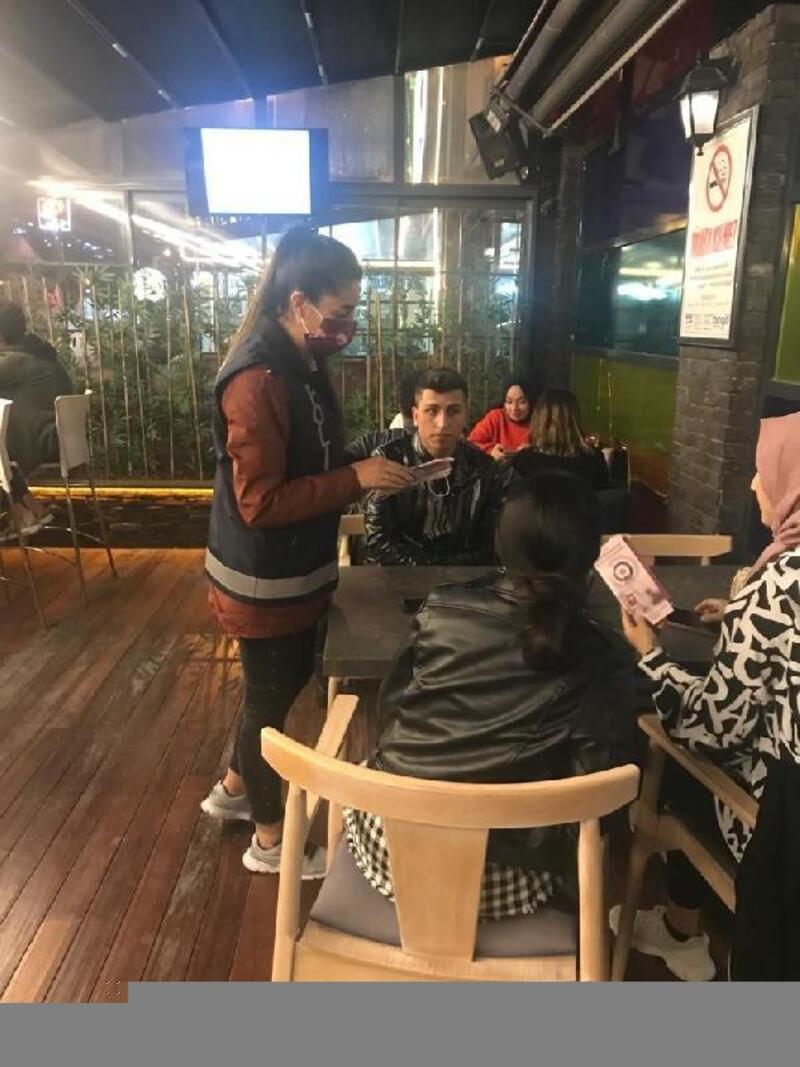 Kayseri'de öğrencilere KADES bilgilendirmesi yapıldı