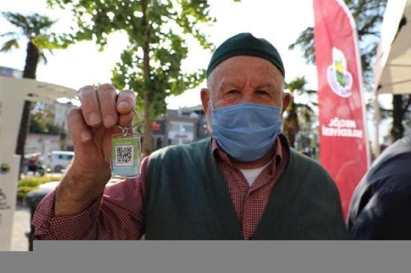 Bursa'da 65 yaş üzerine hes kodlu anahtarlık