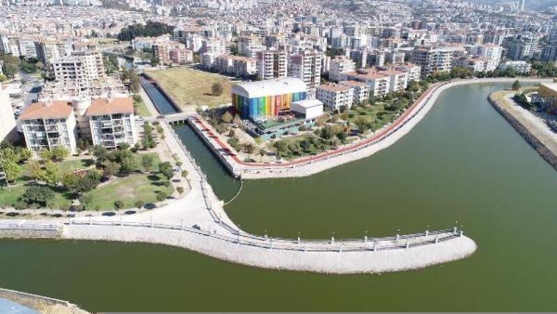 Çiğli Atatürk Organize Sanayi Bölgesi Deresi rehabilite ediyor