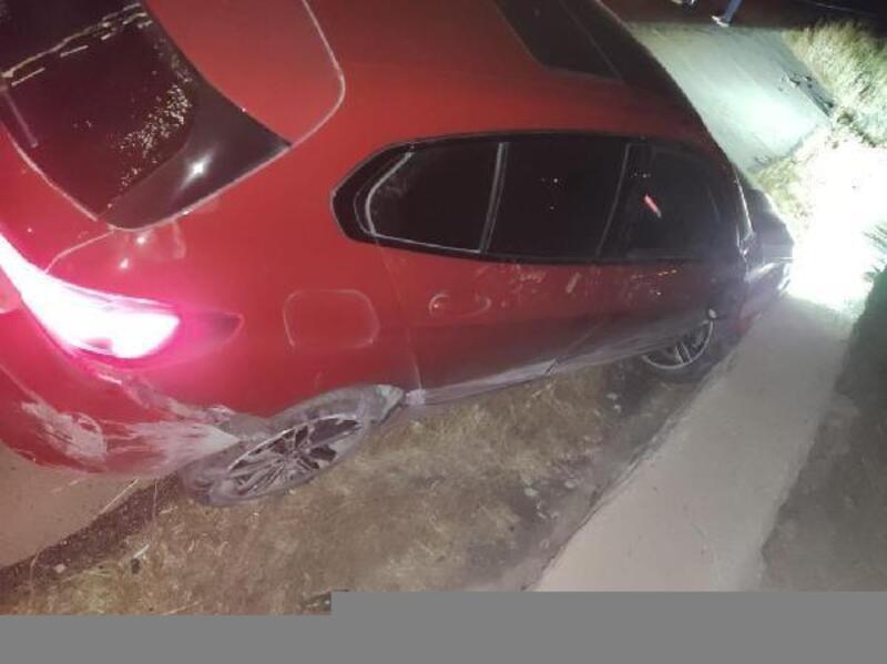 Nusaybin'de trafik kazası: 1 ağır yaralı