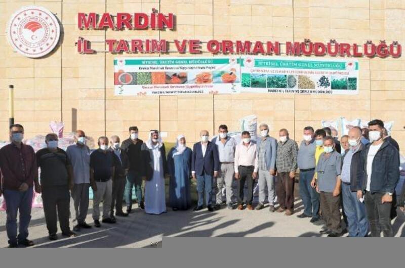Mardin'de 914 çiftçiye tohum desteği