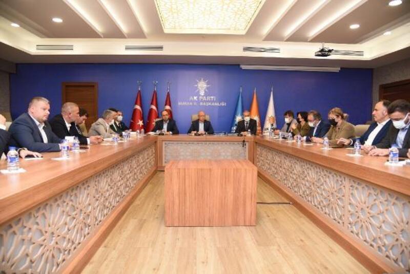 """AK Parti Bursa İl Başkanı Gürkan: Gücümüzü """"Bursa'nın güveninden alıyoruz"""""""