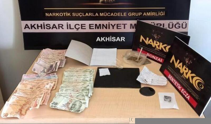 Akhisar'da uyuşturucu operasyonu: 3 tutuklama