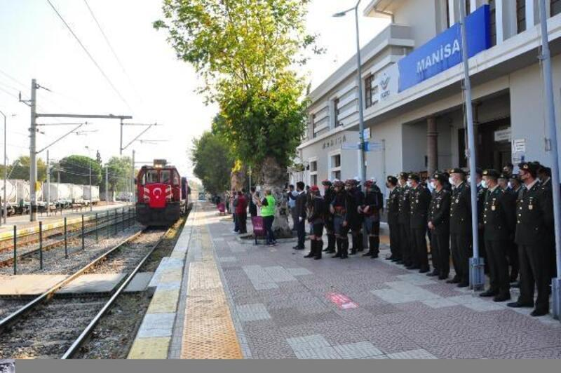 Atatürk'ün Manisa'ya geliş yıl dönümü coşkuyla kutlandı