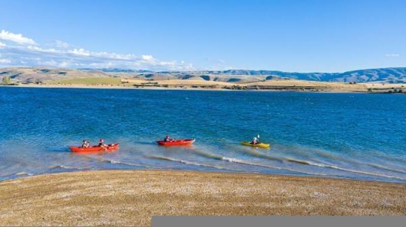 Gölova Gölü, bölgeye hayat veriyor