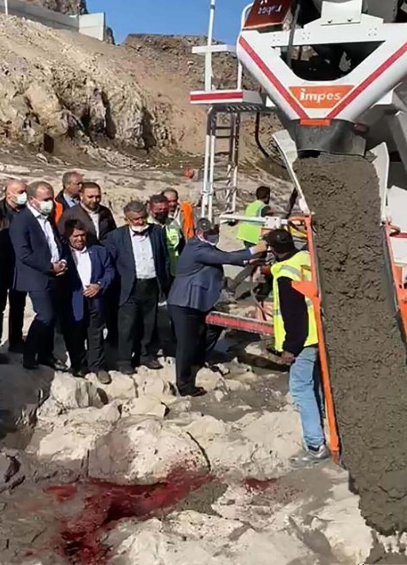 Çankırı'da Prof. Dr. Hasan Zuhuri Sarıkaya Barajı'nın temeli atıldı