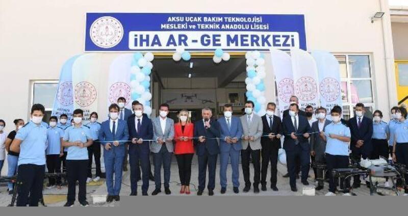 Lisede İHA AR-GE Merkezi'nin açılışı yapıldı
