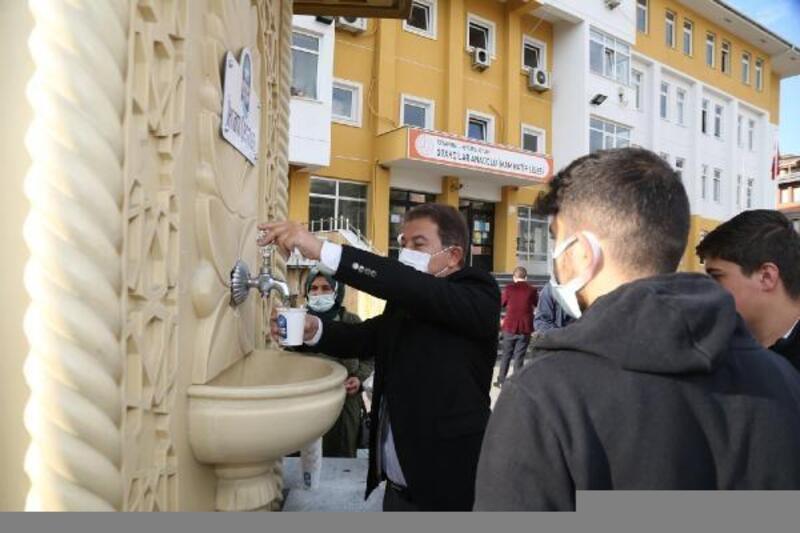 'İkram Çeşmesi'yle öğrencilere çorba ikramı