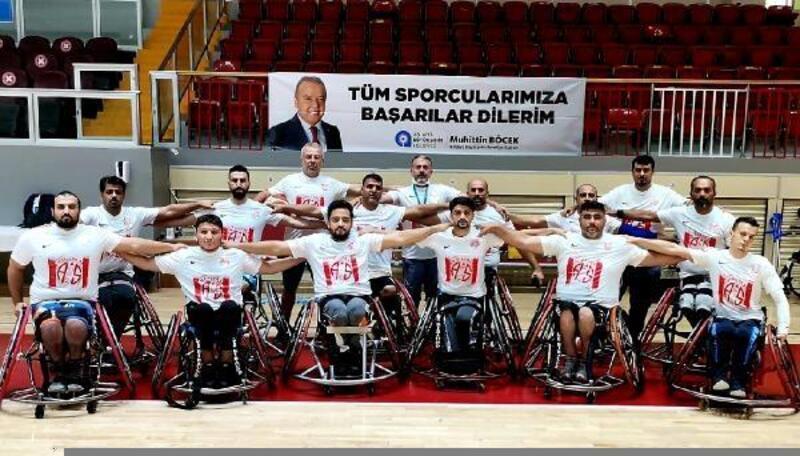 ASAT Spor Tekerlekli Sandalye Basketbol Takımı Süper Lig'de