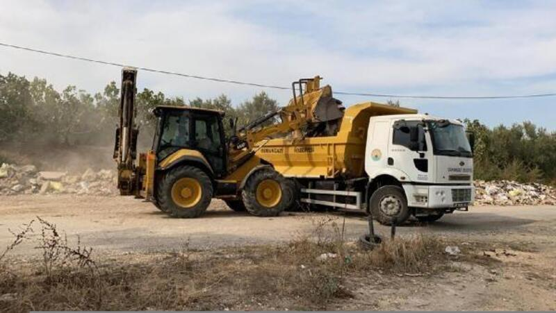 Osmangazi'de moloz dökümünü önlemek için özel ekip kuruldu