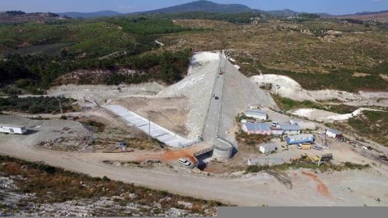 Belenyenice Barajı inşaatında sona gelindi