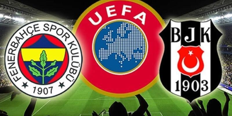 Fenerbahçe ve Beşiktaş Avrupa'da