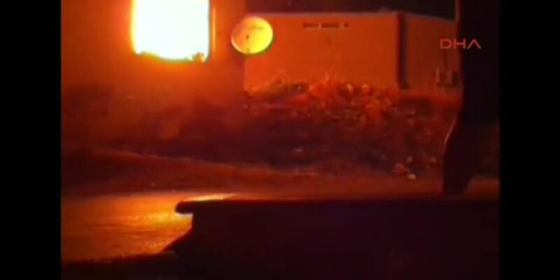 Ataşehir'de gecekondu yangını: 1 ölü