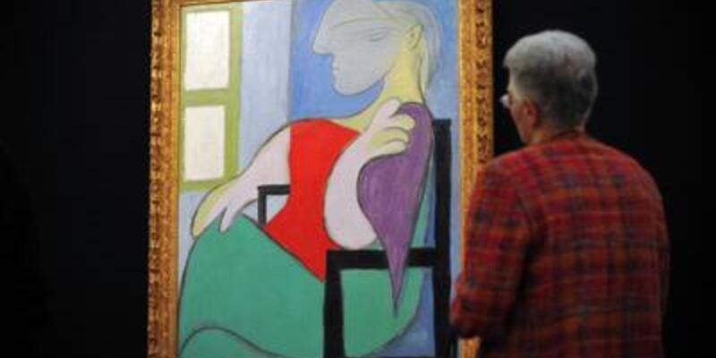 Picasso'nun tablosu 44,9 milyon dolara satıldı