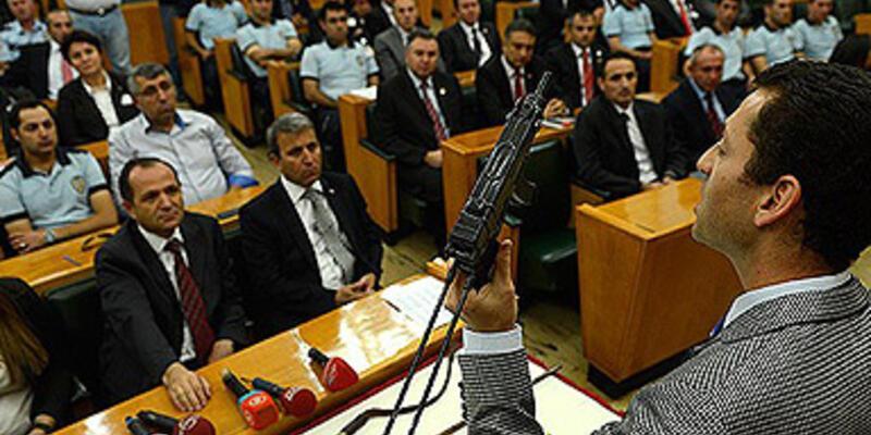 Meclis polisine suikast önleme eğitimi