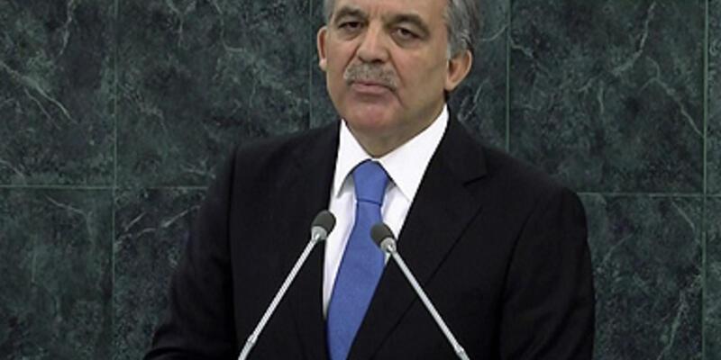 Gül, BM Genel Kurulu'na hitap etti