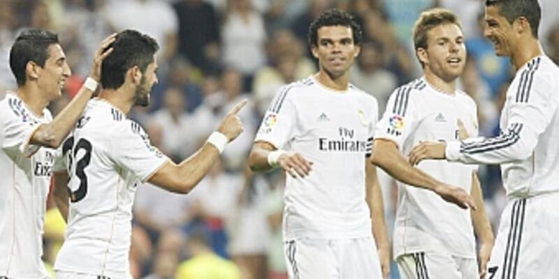 Real Madrid 4 attı