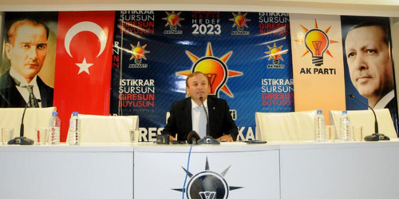 AK Parti Giresun İl Yönetimi istifa etti